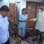 Cycle gifted to a girl (2)